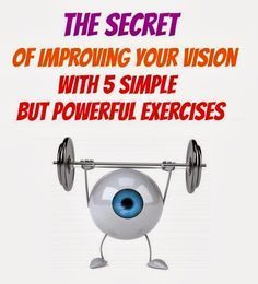 The Secret of Improving Your Vision With 5 Simple But Powerful Exercise