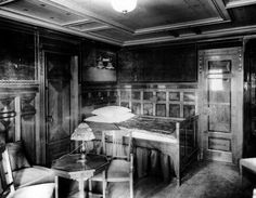 First class accommodations aboard the RMS Titanic in an undated photo. (The New York Times)