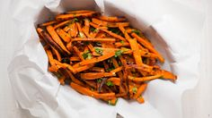 Garlic And Herb Sweet Potato Fries