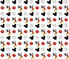 Mickey Mouse fabric by jenniferharris on Spoonflower - custom fabric