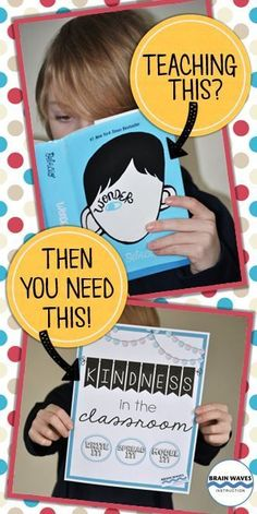 Kindness is at the core of the novel Wonder! So, why not infuse some kindness… Wonder Novel, Wonder Book, Teaching Character, Character Education, Readers Workshop, Writing Workshop, 4th Grade Reading, Literature Circles, Book Study