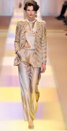 Eclectic fashion Style: Alta Costura Inverno 2014/ Giorgio Armani