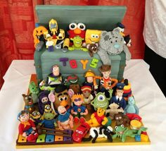 Toy box cake from Cakes By Nicky