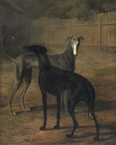 Rolla and Portia (1805)Oil on canvas by Jacques-Laurent Agasse.Musée d'Art et d'Histoire.