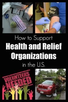 How to Support Health and Relief Organizations in the U.S. - Postcards & Passports