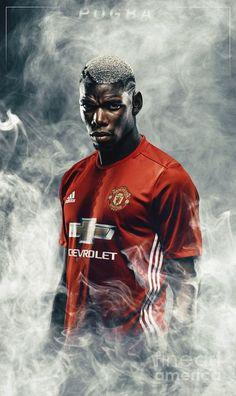 Manchester United Football, Paul Pogba Manchester United, Manchester United Legends, Best Football Players, Soccer Players, Soccer Sports, Sport Football, Pogba Wallpapers, Football Neymar