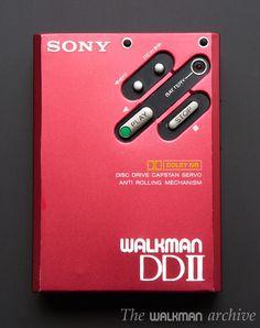 Sony WM DDII RED