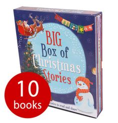 Sure to provide hours upon hours of reading fun for any future bookworm, this collection of beautifully illustrated, festive short stories will enthrall young readers as they take their first steps into the wonderful world of books this Christmas. <br></br>