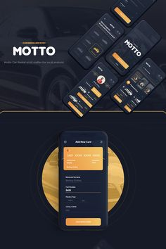 The post Motto Car Rental UI Kit appeared first on Design. Android App Design, App Ui Design, User Interface Design, Design Design, Dashboard Design, Flat Design, Icon Design, Multimedia, Car App