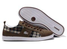 Mens Lacoste shoes Graduate Brown Hot Sale