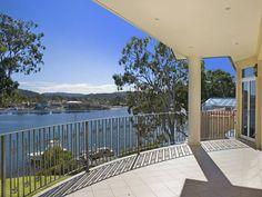 Daleys Point house: balcony.