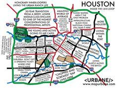 25 Best MAPS Houston Texas & surrounding areas images