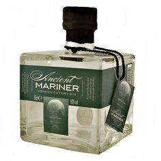 Ancient Mariner Gin London Cut Dry Gin available to buy online at specialist… (Gin Bottle Design)