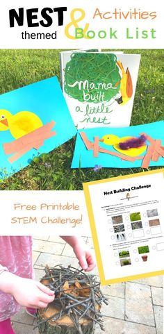 Super bird crafts preschool free printable activities for kids 48 ideas Toddler Art Projects, Easy Art Projects, Projects For Kids, Project Projects, Bird Crafts Preschool, Free Preschool, Printable Activities For Kids, Preschool Activities, Nature Activities