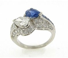 Antique Engagement Rings With Sapphires And Diamonds 32