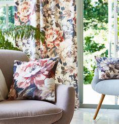 Prestigious Textiles have been designing beautiful interior fabrics and wallpapers for over 30 years. Choose from the UK's widest range of upholstery, cushion and curtain fabrics. Net Curtains, Curtains With Blinds, Curtain Fabric, Drapery, Stuart Graham, Painting Lamp Shades, Fabric Placemats, Prestigious Textiles, Stunning Wallpapers
