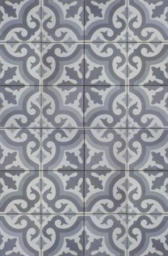 Gorgeous tiles from Norwegian company Historiske.