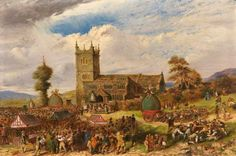 Rushcart Festival at Saddleworth Church, Yorkshire 1800s