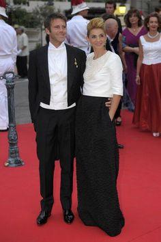 Emanuele Filiberto e Clotilde Cureau