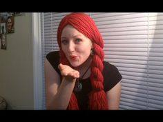 How To Make A Yarn Wig!, My Crafts and DIY Projects