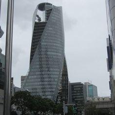 Mode Gakuen Spiral Towers at #MeiekiDori #TaikoDori #Nagoya skyscraper 9.2012