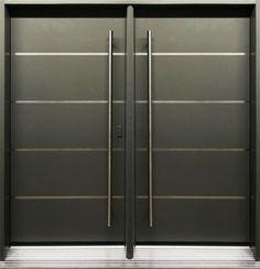 Front door on pinterest modern front door contemporary front doors