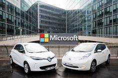 Renault-Nissan et Microsoft s'allient pour préparer l'avenir de la conduite connectée