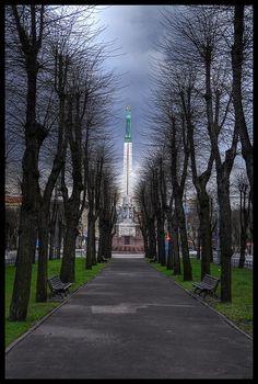 Cloudy Riga.