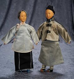 Chinese Wooden Young Lady from Door of Hope Mission, Early 1910 Group 900/1200 Auctions Online | Proxibid