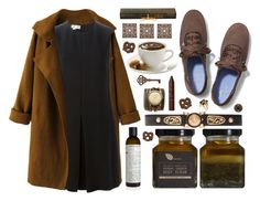 """""""Brown"""" by tilly-buckler ❤ liked on Polyvore featuring Le Labo, STELLA McCARTNEY, Keds, Versace, Sara Designs, tarte, Pier 1 Imports, Louis Vuitton and Aris by Treska"""