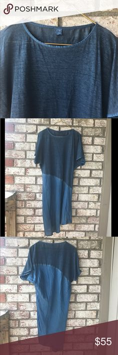 120% LINO 120% LINO Silk and linen Tunic/Dress  Sz M 120% LINO  Tops Tunics