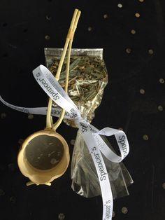 Silk tea infuser and Kawakawa Fire tea from T leaf.