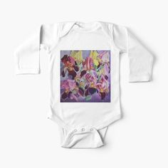 Baby Onesie, Irises, Simple Dresses, Chiffon Tops, Dressing, One Piece, Printed, Spring, Awesome