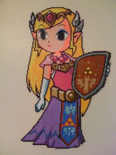 Epic+Perler+Zelda+by+SpringDasie.deviantart.com+on+@DeviantArt