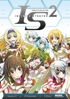 Infinite Stratos 2 DVD Complete Collection (Hyb) #RightStuf2014.