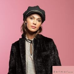 The Clara Cap by Betmar is a wool blend cap featuring a faux leather brim and band. This sophisticated newsboy cap is fully lined and is trimmed with a delicate metal chain that is twisted and stitched around the band. Newsboy Cap, Hat Shop, Cute Hats, Metal Chain, Hats For Women, Wool Blend, Fashion Caps, Leather, How To Wear
