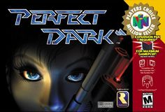 Perfect Dark 64 Never beat this game, still have it..... Nintendo 64 Games, Nintendo N64, Playstation, Xbox, Games Box, Old Games, Secret Organizations, Pc Engine, Perfect Dark