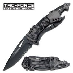 Tac Force TF-705FC Outdoor Folding Knife 4.5-Inch Closed: Sports & Outdoors