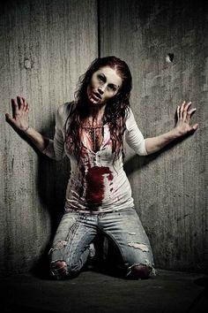 creepy womens halloween costumes zombie