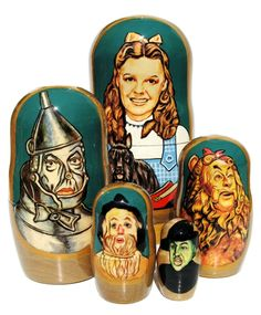 This website has tons of matryoshka sets, I want them ALL! They have some that are thousands of dollars!