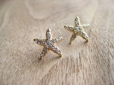 Starfish earrings..i have some but they're jade :)