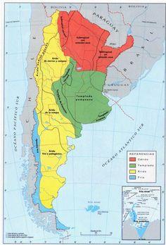 variedades climáticas de Argentina