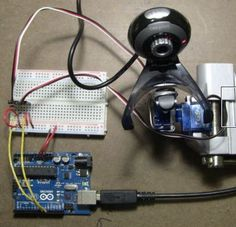 Detect and track faces with Arduino Uno, webcam, servos and OpenCV http://www.instructables.com/id/Face-detection-and-tracking-with-Arduino-and-OpenC