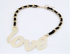 love fashion necklace.