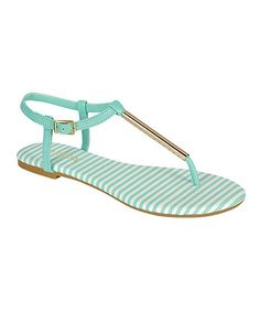 Mint Macalen Sandal by Bamboo