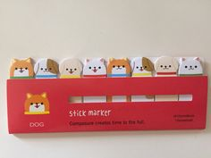 Dog Sticky Note Flags by GoatGirlMH on Etsy