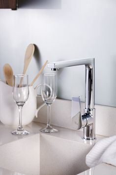 Kitchen Taps and Accessories by Grohe – You'll find it @ www.plumbitonline.co.za Modern Sink, Kitchen Taps, Accessories, Kitchen Faucets, Ornament