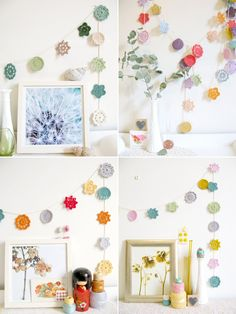 forever flower garland pick your palette made to order emma lamb