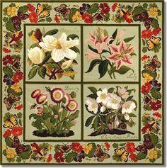 Elizabeth Bradley: Floral Carpet