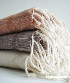Turkish linen bath towels, peshtemals. Handwoven in Turkey, but store is in the States. cost $34.50